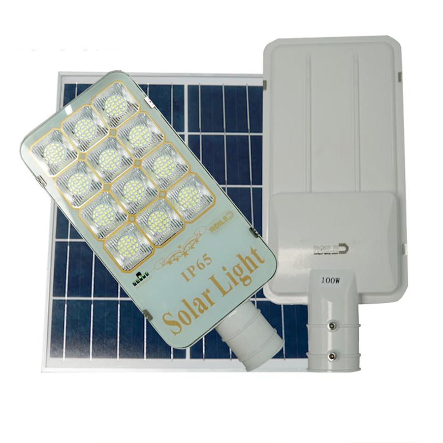 Đèn đường năng lượng mặt trời Roiled 100W - RF100 Pin rời mới nhất
