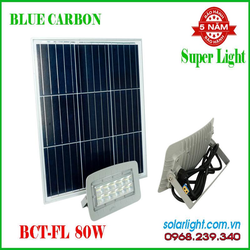 Đèn pha Blue Carbon BCT-FL2.0 80W  Năng lượng mặt trời
