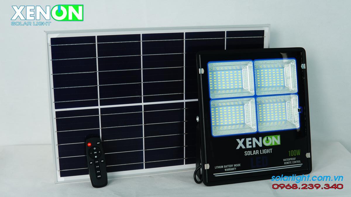 Đèn pha n8ang lượng mặt trời Xenon