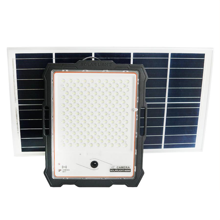 Đèn pha năng lượng mặt trời 400W có Camera | Camera Full HD 1080