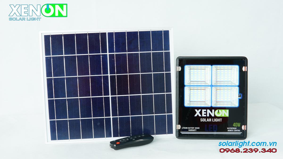 Đèn pha năng lượng mặt trời Xenon X40W