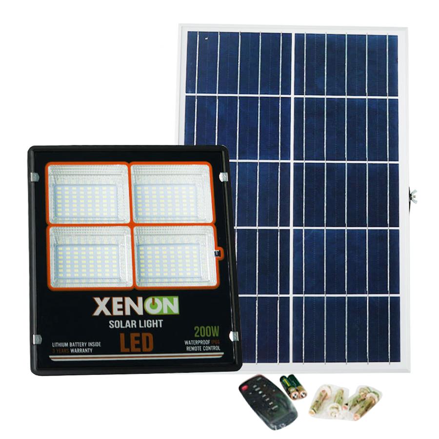 Đèn pha năng lượng mặt trời Xenon C200W| kiểu dáng mới | giá tốt