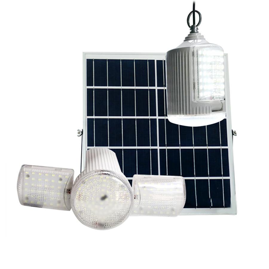 Đèn năng lượng mặt trời trong nhà 60w Roiled RT 60W  sáng 8-12 tiếng, chính hãng