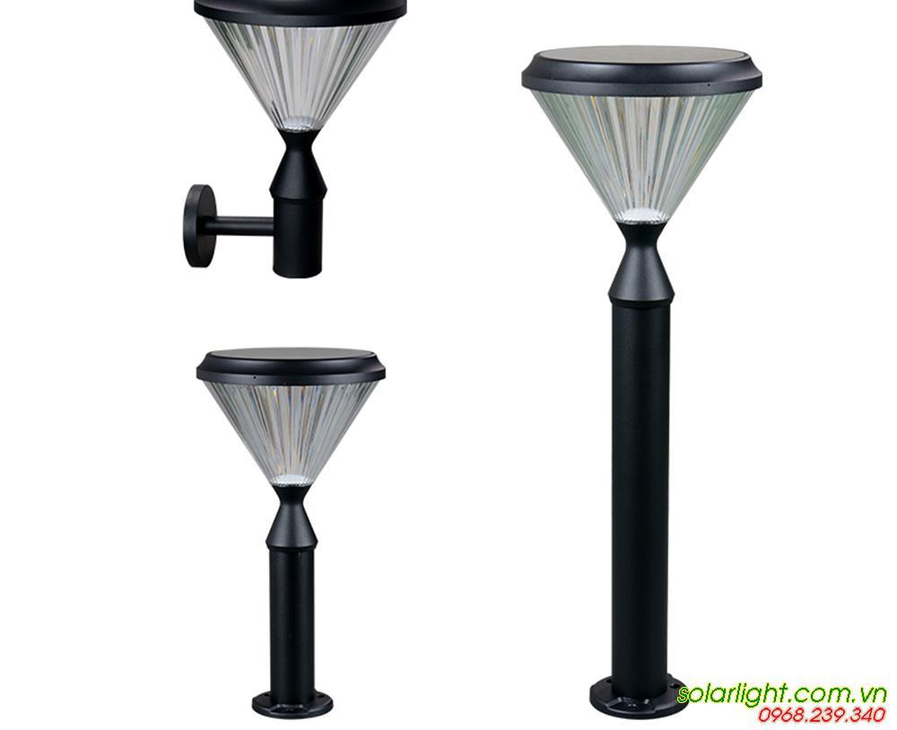 đèn solar light chiếu sân vườn
