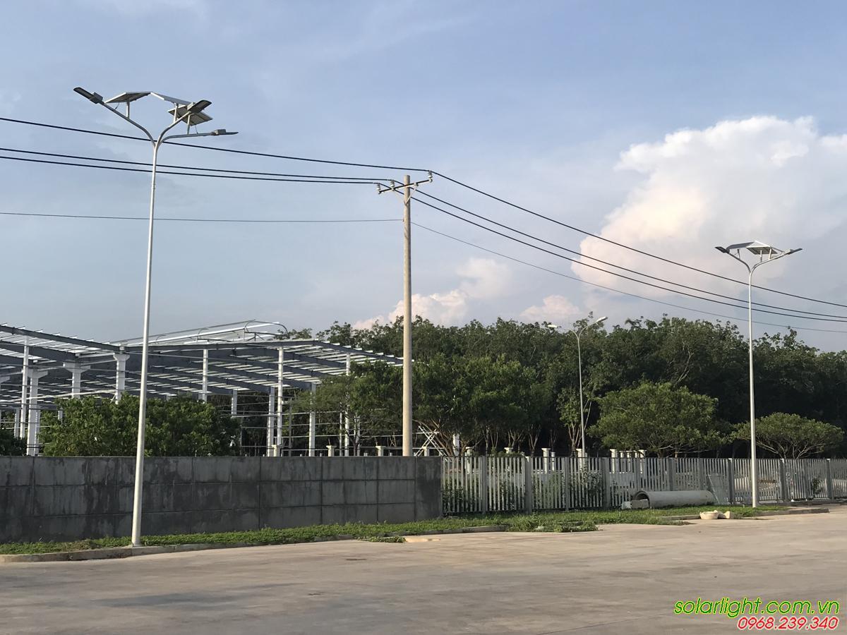 Đèn solar san bãi nhà kho đồng nai