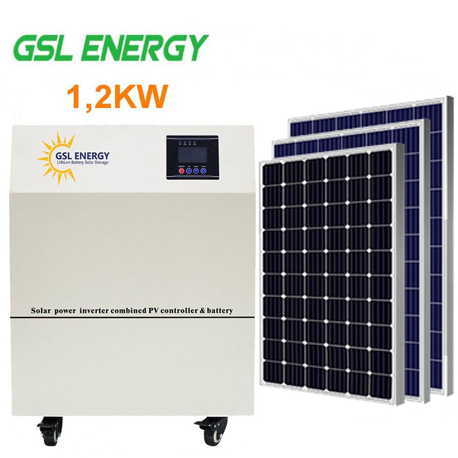 Điện năng lượng mặt trời hệ độc lập 1,2KW