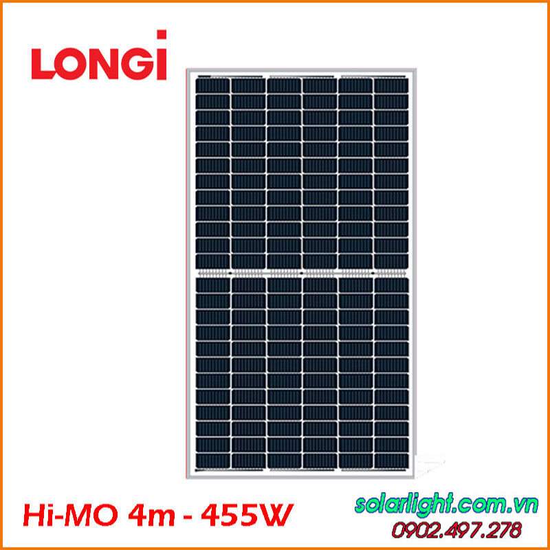Longi Hi-MO 4m Mono Half Cell 455W