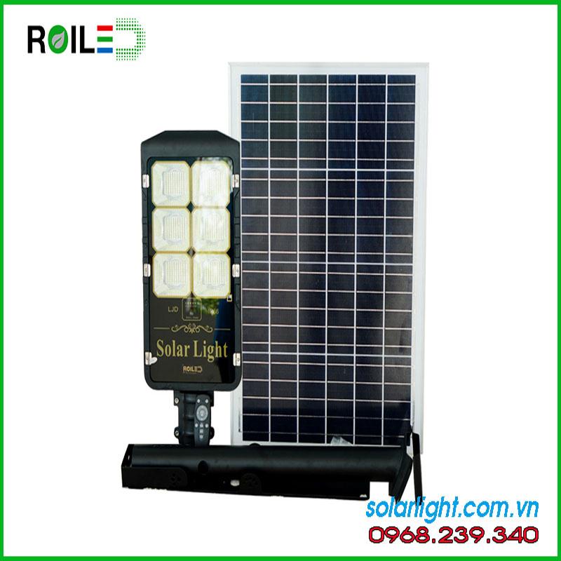 Solar Light Đèn đường Solar Light RL 200w pin rời siêu sáng