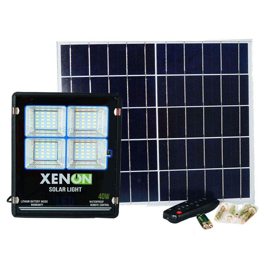 Đèn pha năng lượng Solar Light Xenon X40W | Chính Hãng | Cao Cấp