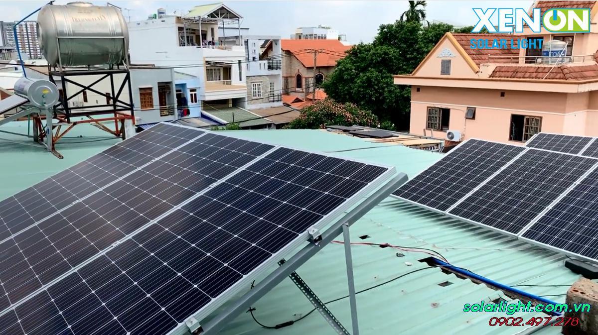 Trạm pin điện năng lượng mặt trời