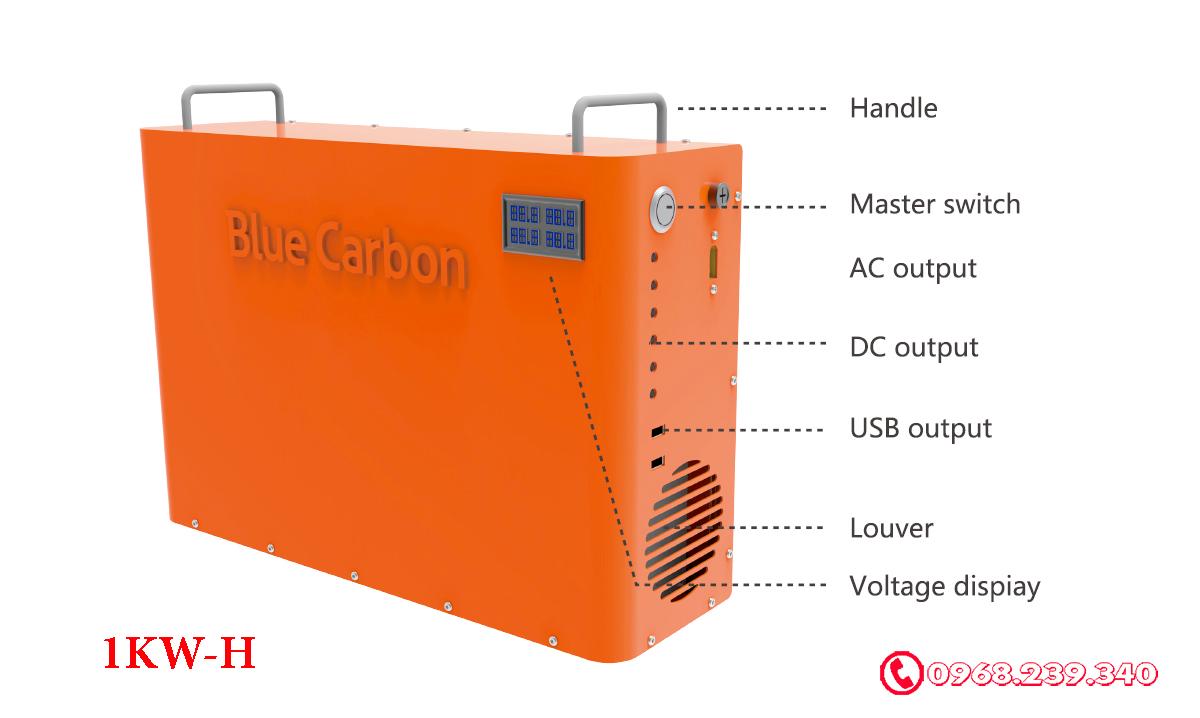 máy phát điện năng lượng mặt trời BCT 1kwh