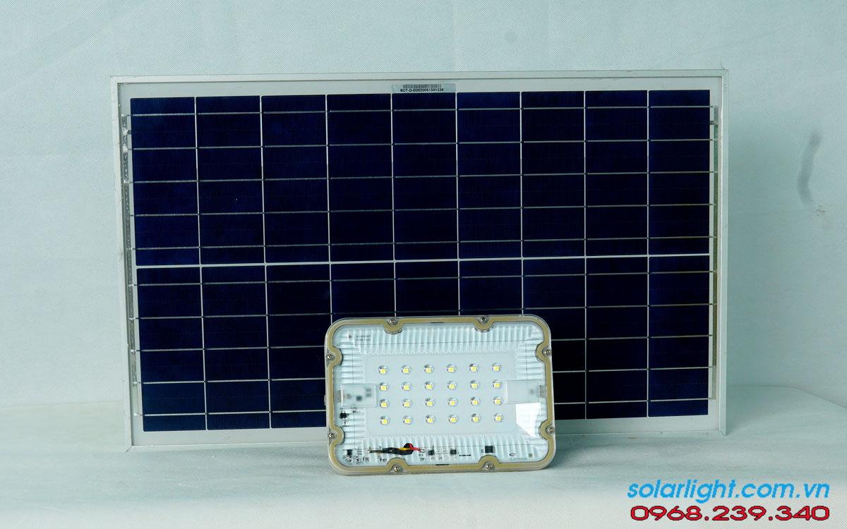 Đèn pha Blue Carbon BCT-FL60W| năng lượng mặt trời| chính hãng